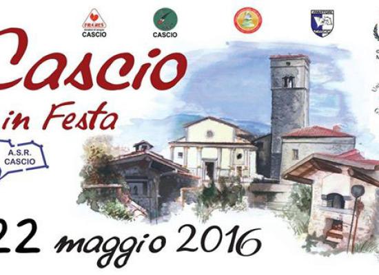 MANIFESTAZIONE RINVIATA A DOMENICA 22 MAGGIO CASCIO IN FESTA