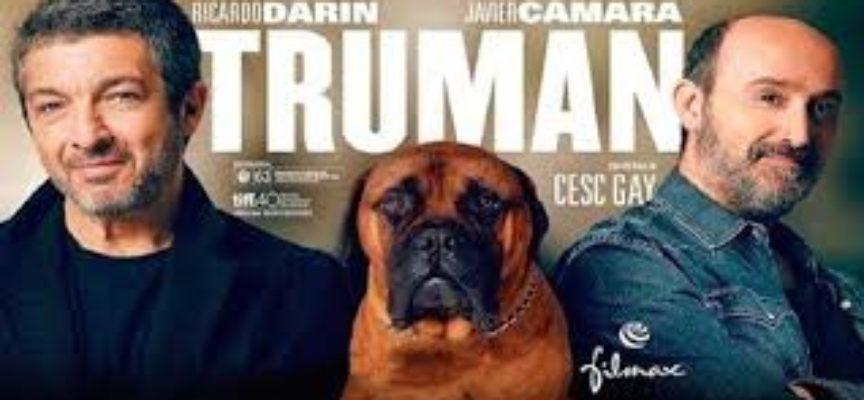 CAPANNORI, 'TRUMAN.UN VERO AMICO E' PER SEMPRE' IL FILM IN PROGRAMMA AD ARTE'