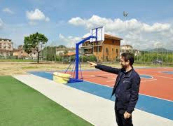 entrati in funzione i nuovi impianti sportivi del liceo Vallisneri