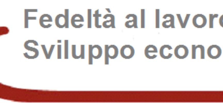 CCIAA DOMENICA PREMIAZIONE FEDELTA' AL LAVORO