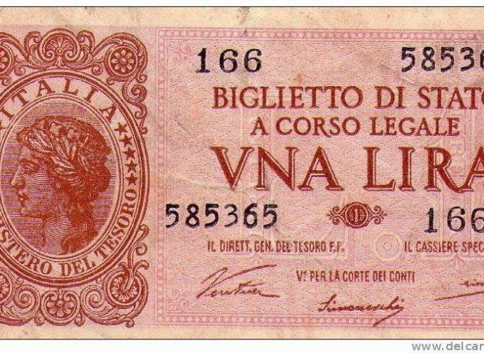 Il costo della vita in Garfagnana negli anni '30…Quando la vita era dura ma bella…