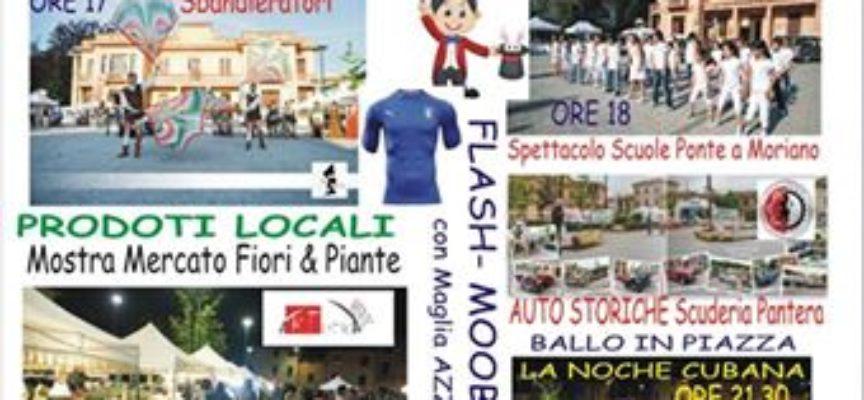 annullata la festa di Ponte a Moriano, per il due giugno