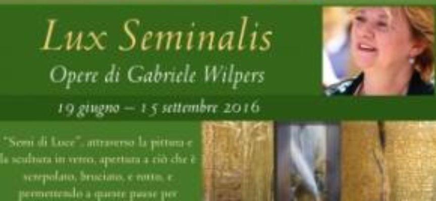 """barga  – mostra d'arte """"Lux Seminalis"""" – """"Semi di Luce"""