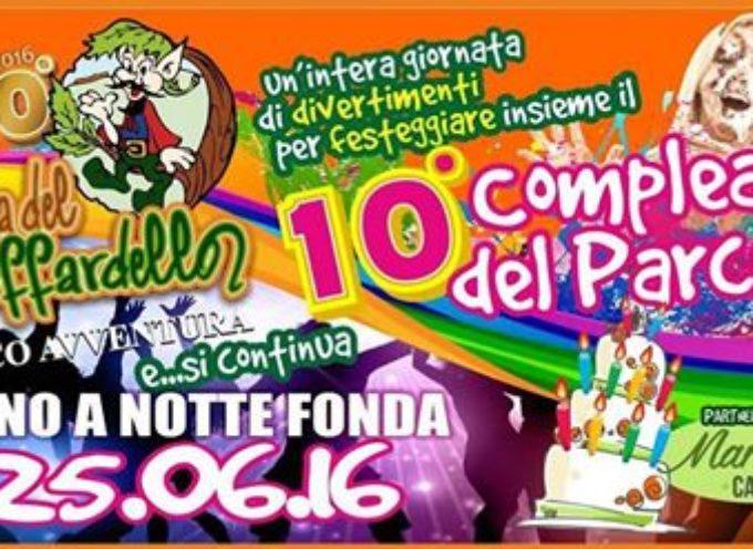 """10° Anniversario del parco """"Selva del Buffardello"""""""