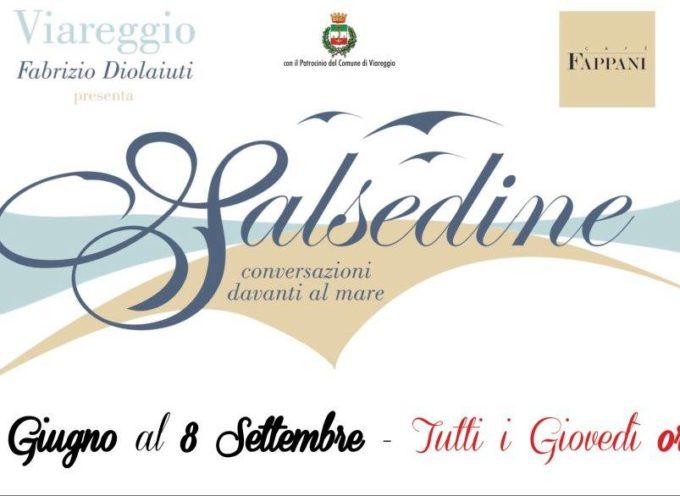 Da oggi tutti i giovedì. . . Salsedine ore 18.30 Caffè Fappani a Viareggio