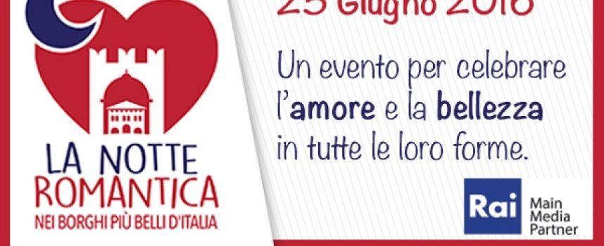 Sabato 25 giugno si festeggia a Barga la Notte Romantica dei Borghi più belli d'Italia.