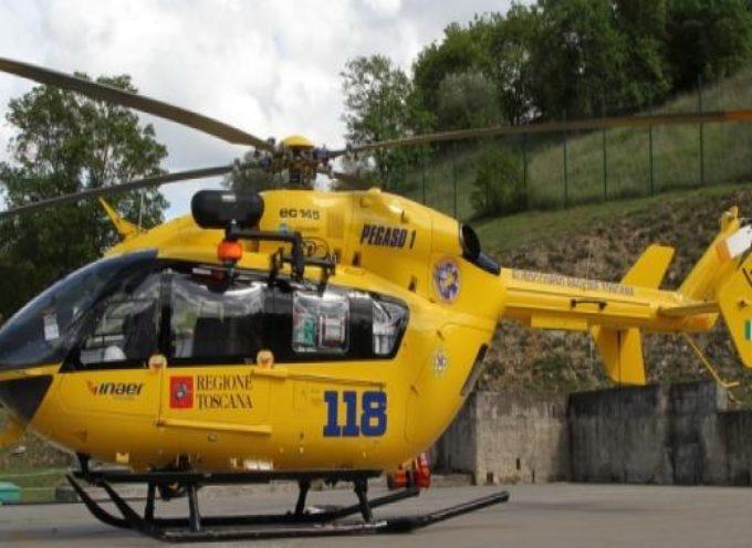 incidente sul Brennero, grave una donna, con Pegaso a Cisanello