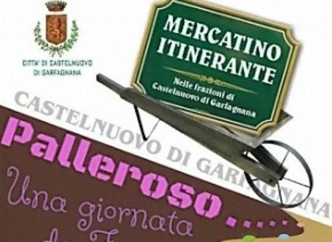 """Domenica 12 giugno il """"Mercatino Itinerante"""" farà tappa a Palleroso."""