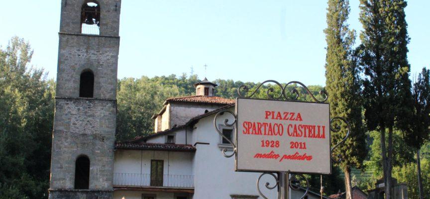 Castelnuovo di Garfagnana, una piazza intitolata a Spartaco Castelli
