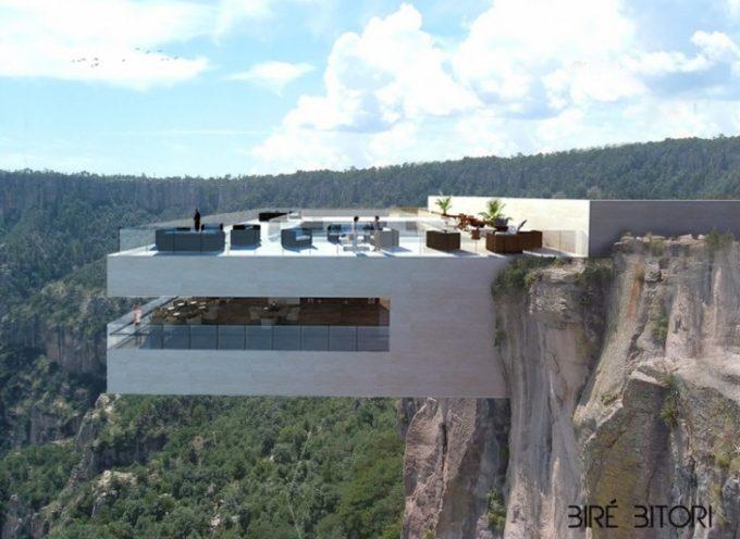 Vietato L'ingresso Ai Deboli Di Cuore: Ecco Il Terrificante Bar Sospeso Su Un Canyon