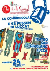 Chi è di scena - San Girolamo 2016 - Locandina 24 giugno - web
