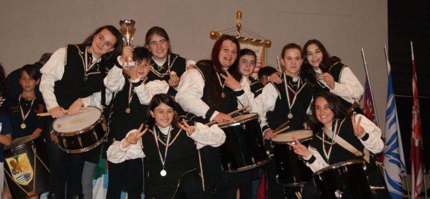 Musici di Gallicano under 15 vicecampioni d'Italia.