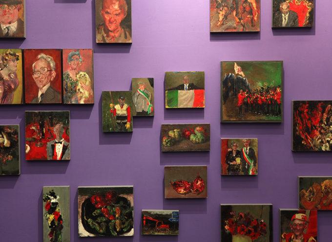 CIRCO_STANZE, la mostra di Giancarlo Vitali a cura di Velasco Vitali, ospitata nel Palazzo della Fondazione Banca del Monte di Lucca