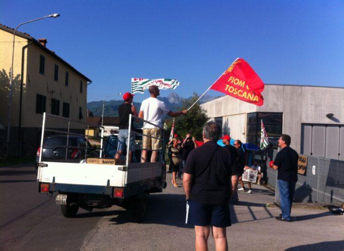 Un'altra giornata di sciopero oggi alla Corghi; Vertenza CORGHI