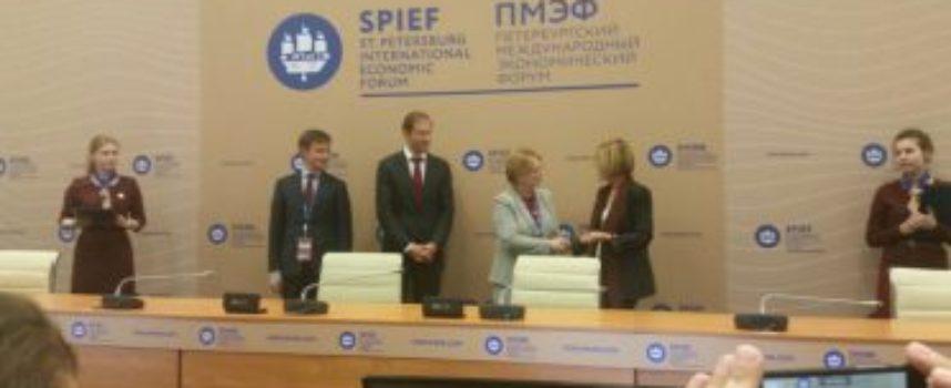 Kedrion consolida la presenza in Russia: storico accordo a S.Pietroburgo