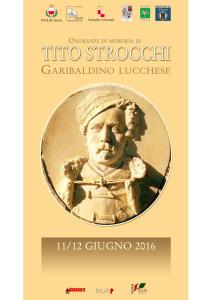 Locandina A3 Tito Strocchi