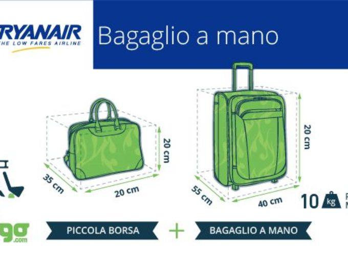 Ryanair: da domani  sconti sulle tariffe dei bagagli