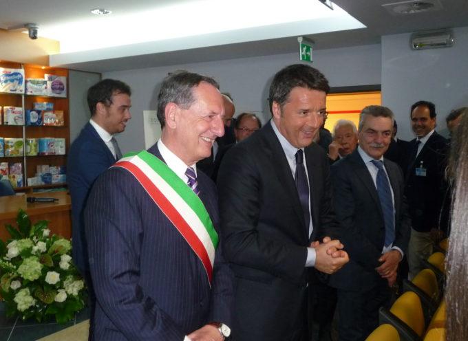 Siamo grati al Presidente del Consiglio Matteo Renzi di essere venuto a Porcari,