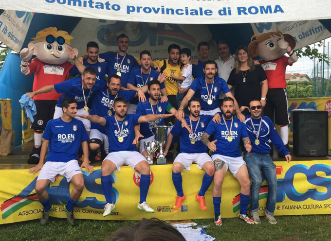 Small Stars Porcari per il secondo anno consecutivo campione d'Italia a sette Aics