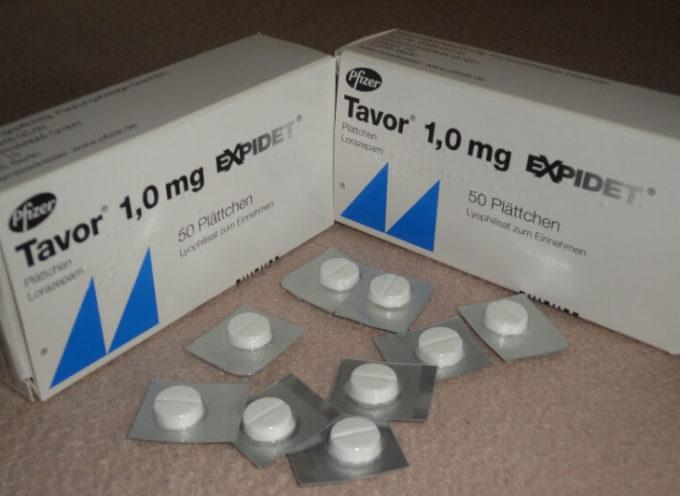 """Ritiro volontario lotto specialita' medicinale """"TAVOR"""". Riduzione del periodo di validità, da 21 a 15 mesi"""