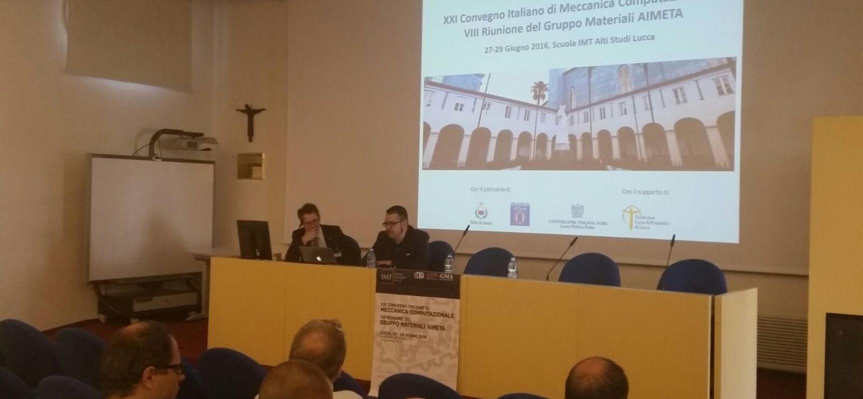 LUCCA – NOVANTA STUDIOSI DA TUTTA ITALIA PER AVVICINARE RICERCA E INDUSTRIA