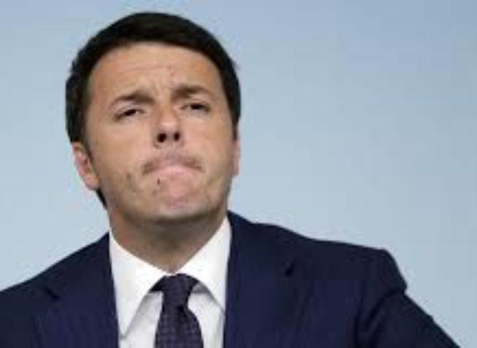 Matteo Renzi prima in Sofidel, poi  in centro a lucca