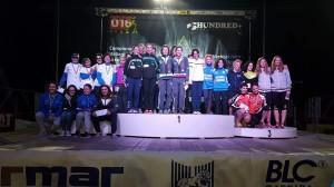 foto di gruppo staffette femminili Campionato Italiano 2016