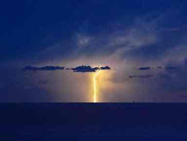 5 morti, giovedì scorso, su una spiaggia di Cuba a causa di un fulmine