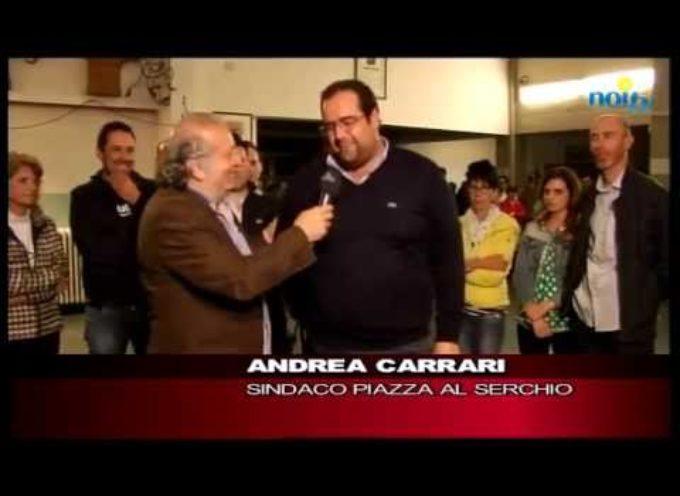 Carrari nuovo sindaco di Piazza al Serchio[VIDEO]
