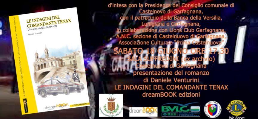 """Daniele Venturini presenta il """"I racconti del Comandante Tenax"""" a Castelnuovo"""