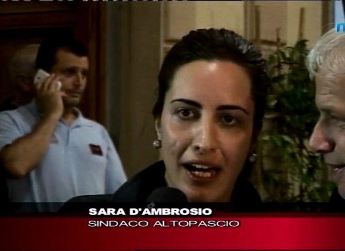 SARA D'AMBROSIO E' IL NUOVO SINDACO DI ALTOPASCIO[video]