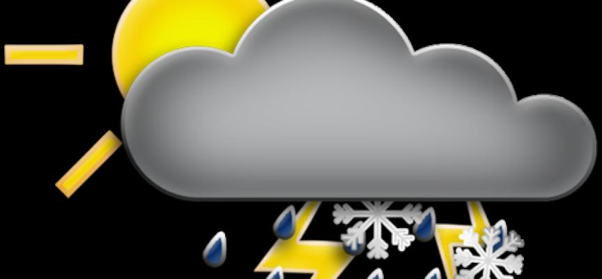 il meteo in valle dal 4 al 6 giugno