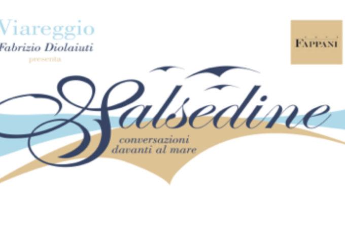 Viareggio giovedi 30 giugno cafè Fappani SALSEDINE il talk show di f. diolaiuti