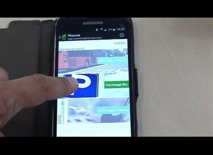 LUCCA – Due App. per pagare i parcheggi[video]