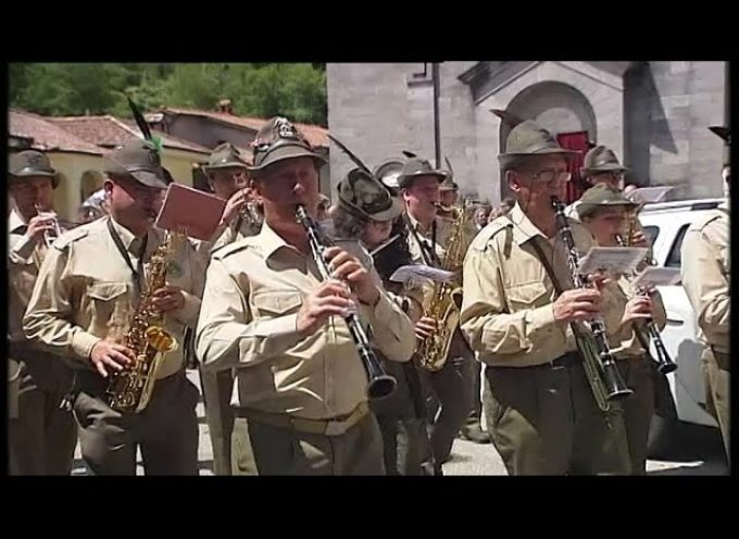 raduno degli alpini a camporgiano [video]
