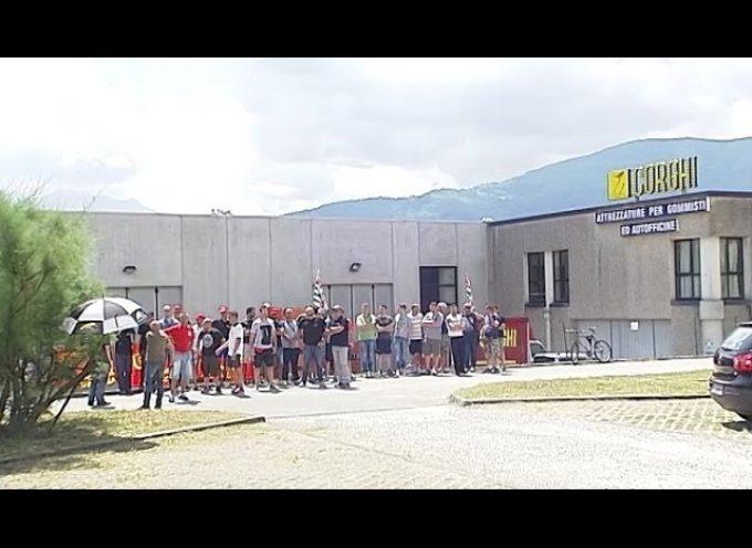 pieve fosciana  Crisi alla Corghi, dipendenti in sciopero