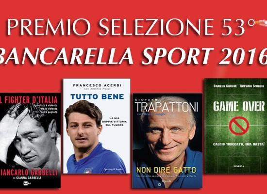 lucca sei finalisti per il premio bancarella sport..
