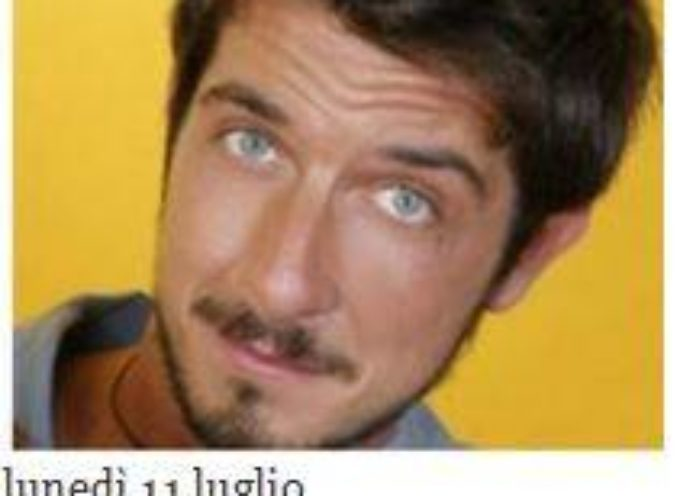 barga – Paolo Ruffini lunedi 11 luglio