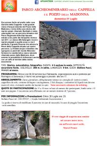 31 luglio parco archeominerario della cappella e il pozzo della madonna apuantrek