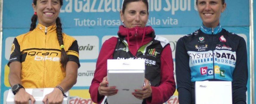 Cicloteam San Ginese vittorioso al Sestriere con Luigi Salimbeni