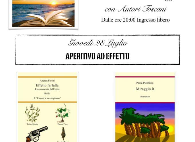 CS Aperitivo ad Effetto – Un libro al tramonto, Viareggio 28/7/2016