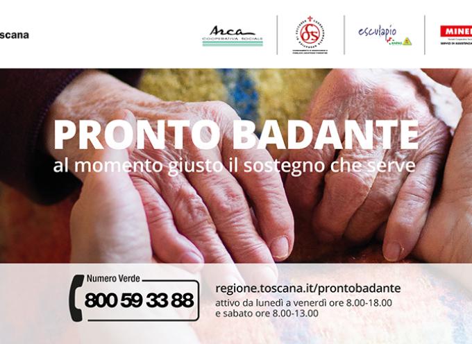 Pronto Badante, 3.000 telefonate al numero verde nei primi cinque mesi Sul territorio dell'Azienda USL Toscana nord ovest anche 529 visite a domicilio e 422 buoni lavoro attivati