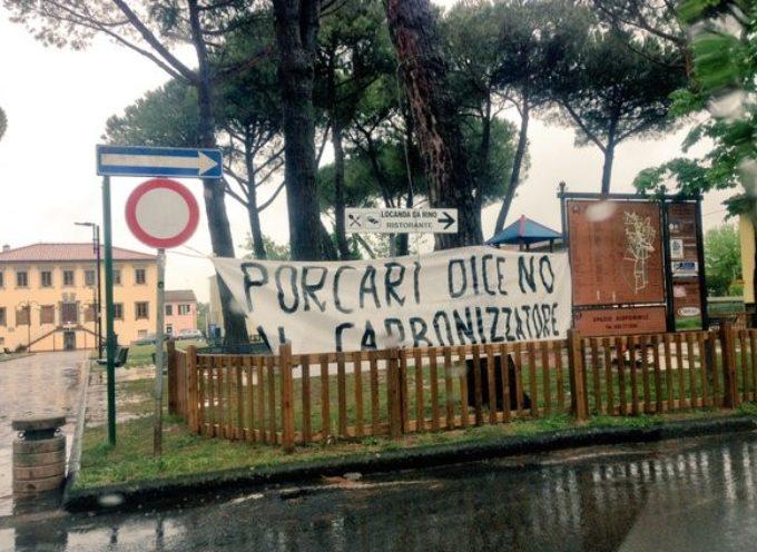 """PORCARI NO"""" AL CARBONIZZATORE,"""