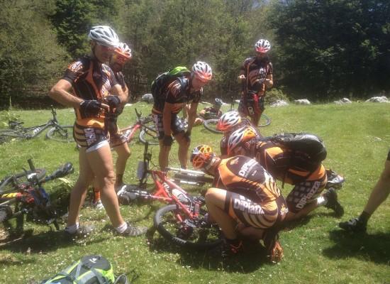 """Prima tappa del tour 2016 del Gruppo di ciclisti porcaresi di """"Torretta Bike"""""""
