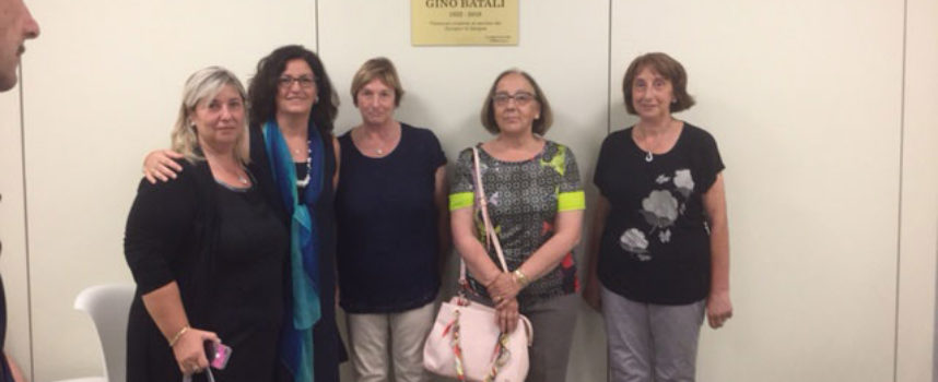 Centro trasfusionale di Lucca: una targa in ricordo di Gino Batali