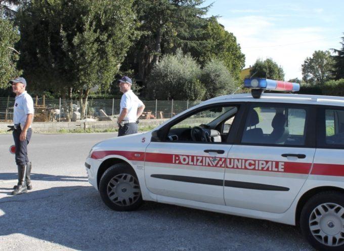 Capannori, pattuglie della  polizia municipale anche di notte