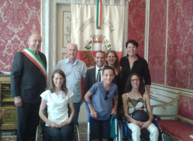 Sara Morganti in partenza per Rio De Janeiro: il team toscano della squadra Paralimpica di Paradressage a Palazzo Orsetti
