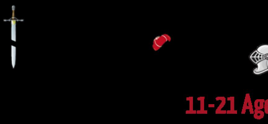 Settimana del commercio Castelnuovo: UN LOGO PER L'ORLANDO FURIOSO BERTOLUCCI CONFERMATO PRESENTATORE UFFICIALE