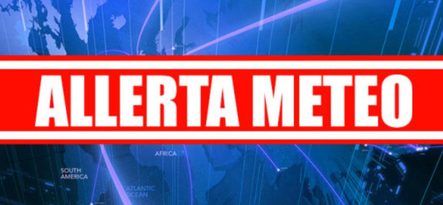 ALLERTA METEO LIVELLO GIALLO PER LA VALLE