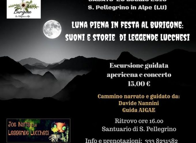 Al rifugio il Burigone a San Pellegrino in Alpe: Sabato 23 Luglio una serata unica tra natura, musica e buon cibo